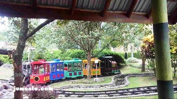 mini train sanggaluri park