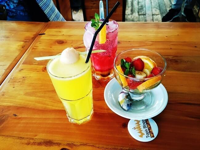 menu minuman pavilion resto & cafe