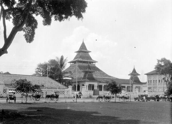 gambar masjid agung bandung 1929