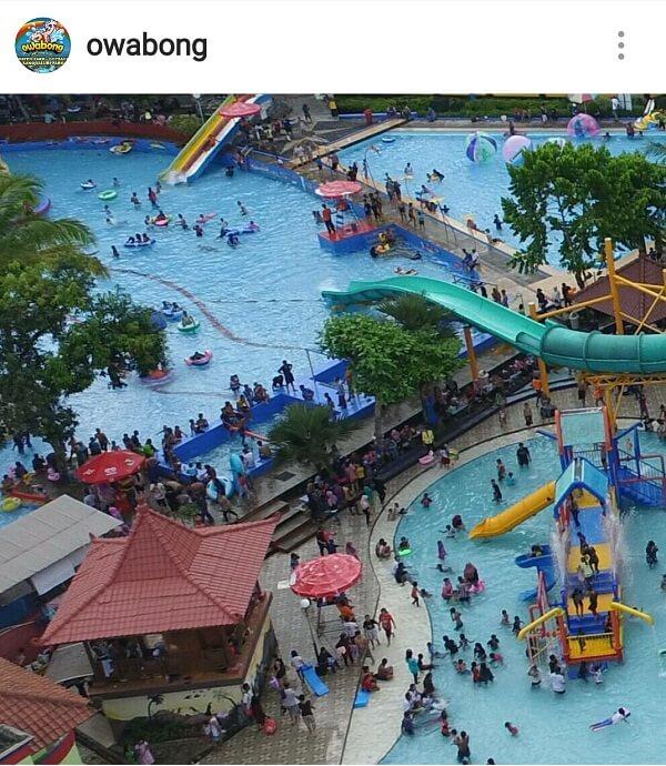 Foto wisata Owabong objek wisata air bojongsari purbalingga