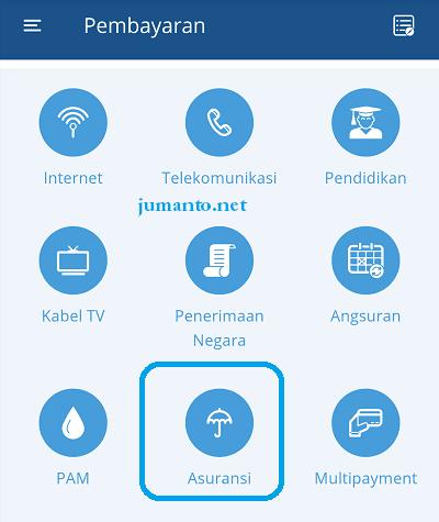 cara membayar iuran bpjs di aplikasi mandiri online