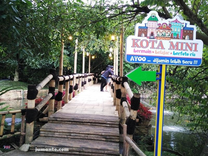 foto lokasi floating market bandung