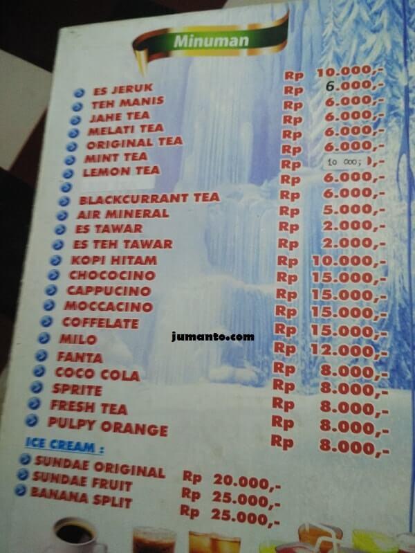 daftar menu ikan bakar gembul