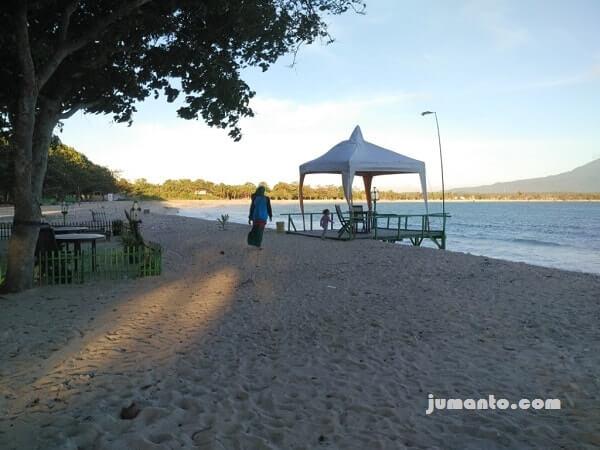 foto keindahan pantai embe kalianda lampung selatan atau m beach