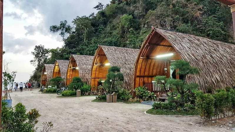 cottage di lampung villa lombok tegal mas