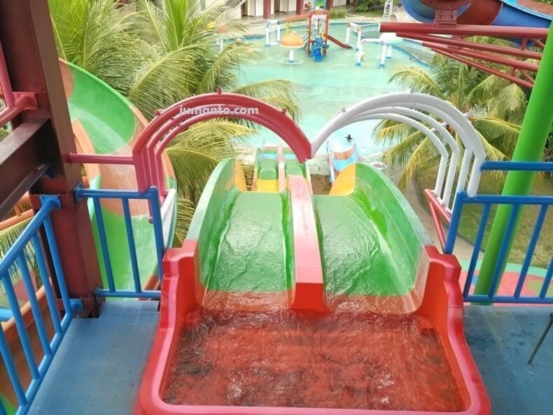 wisata kolam renang bumi kedaton waterpark lampung