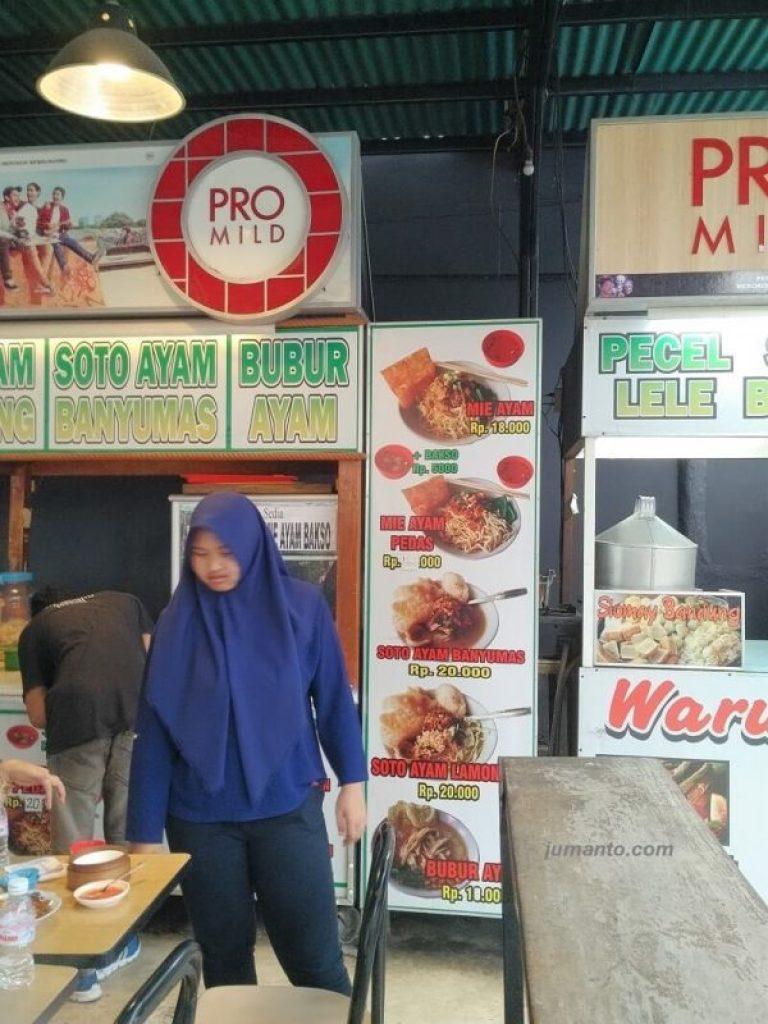 Daftar Harga dan Menu Cafe Oops Pujasera Bandar Lampung