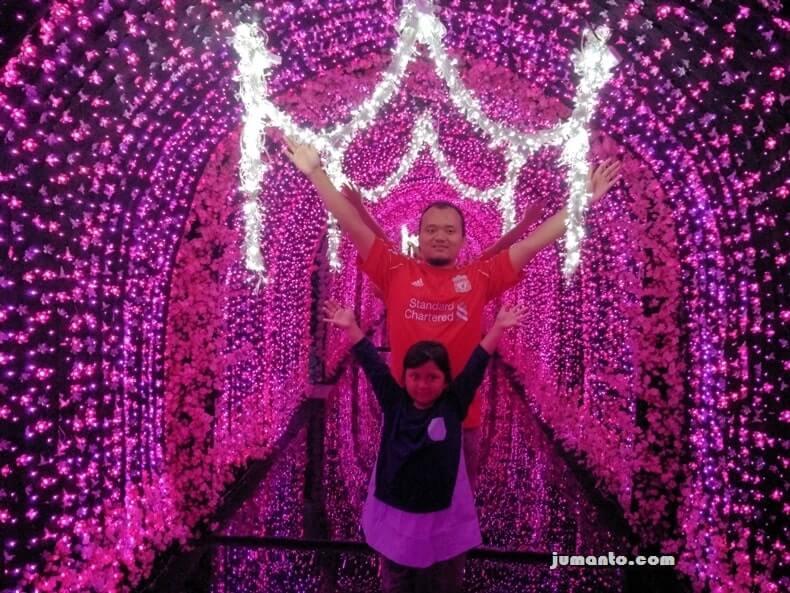 Foto lampung walk 3d wahana instagramable