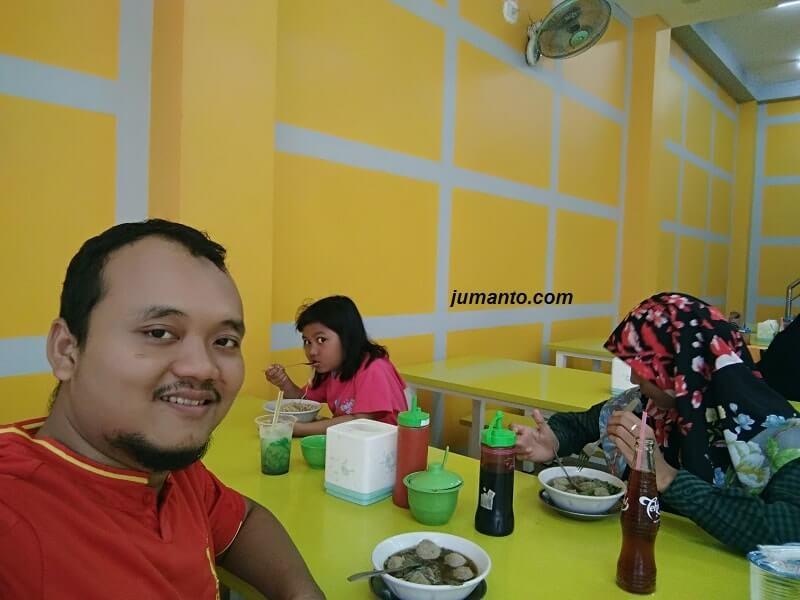 Kulineran Bakso Sony Pringsewu Lampung (Alamat, Harga, Review)