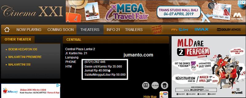 Harga Tiket Bioskop Di Tanggal Merah Sama Dengan Sabtu Minggu