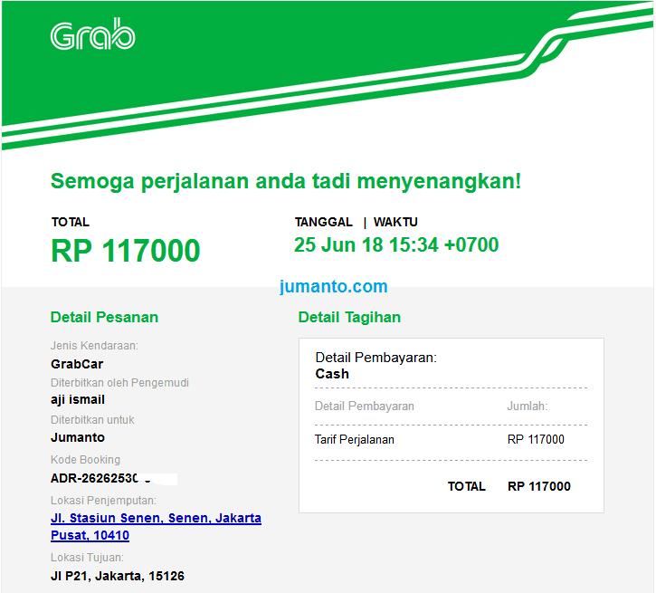 Pengalaman Dari Stasiun Pasar Senen Ke Bandara Soekarno Hatta Naik GrabCar
