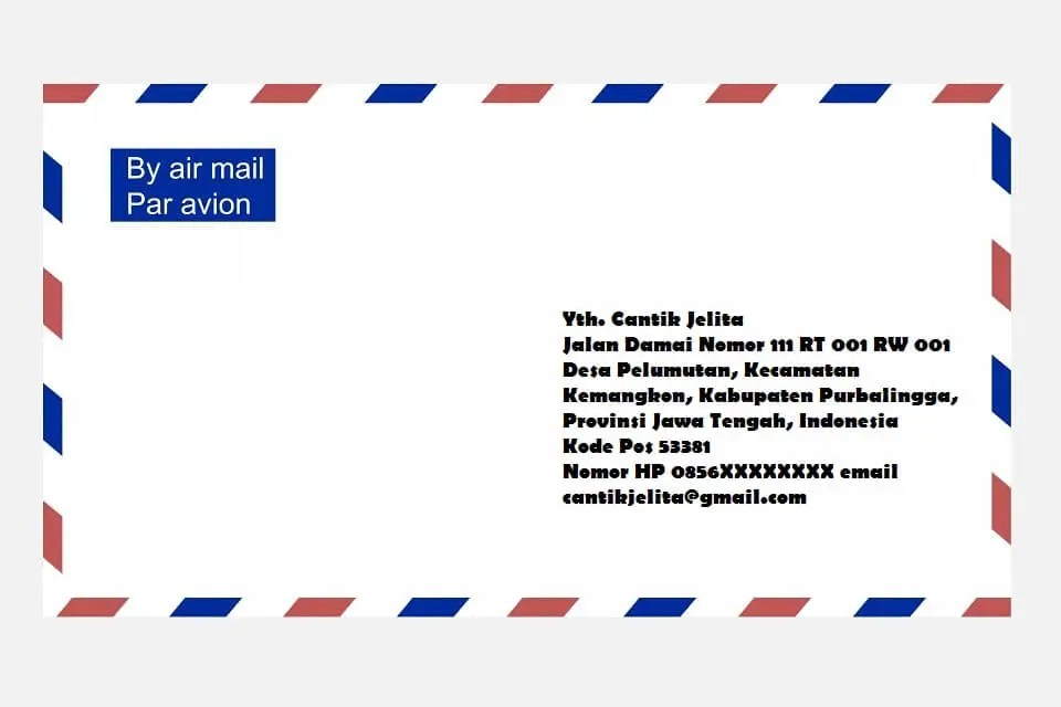 2 Cara Menulis Alamat Paket Atau Surat Yang Benar Barang Jne Pos J T