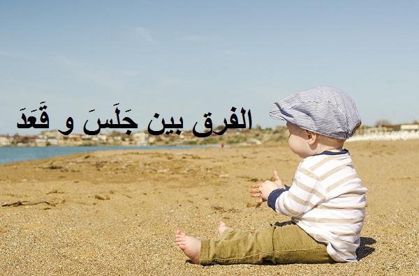 Perbedaan Jalasa (جلس) dan Qo'ada (قعد) Dalam Bahasa Arab Plus Contoh