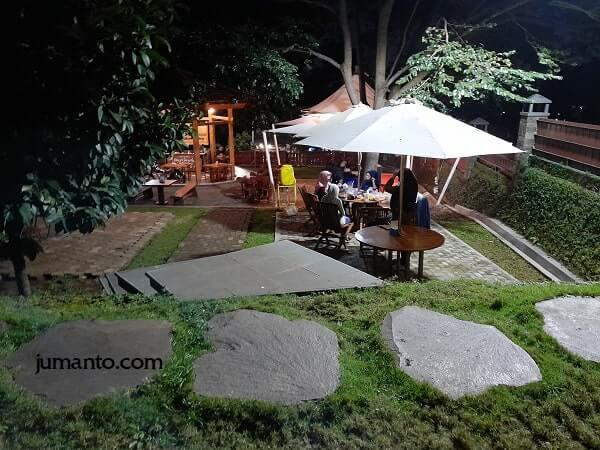 tempat dinner romantis malam hari di bandar lampung
