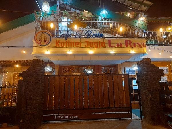 alamat dan lokasi cafe larise lampung
