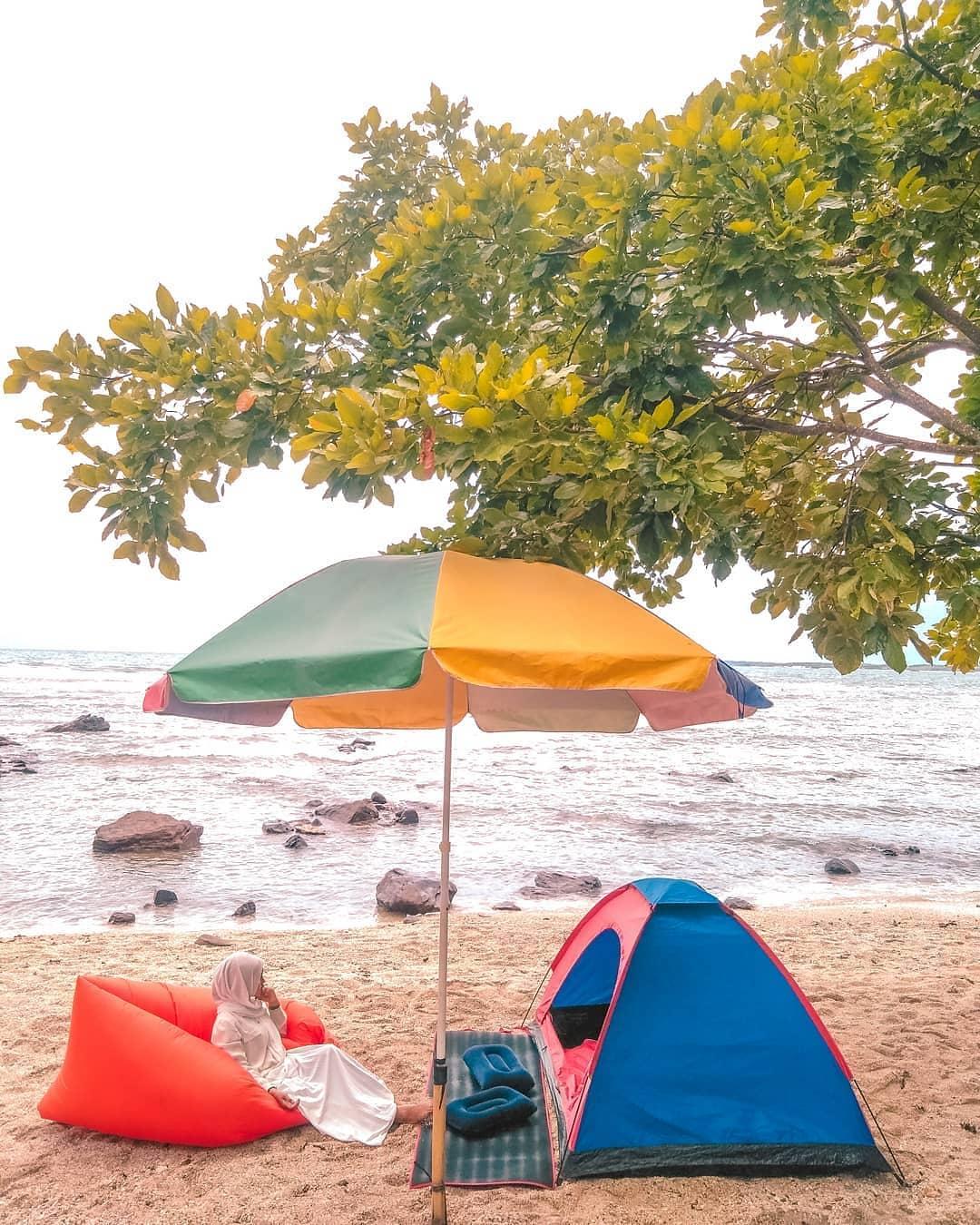 foto pantai semukuk indah kalianda lampung selata