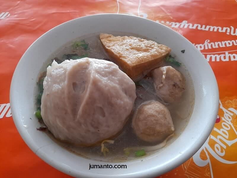 Kuliner Bakso Lampung Di Deket Kantor Tempat Saya Biasa Makan Siang