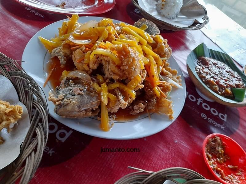 review makanan di rm saung agrowisata kemiling bandar lampung