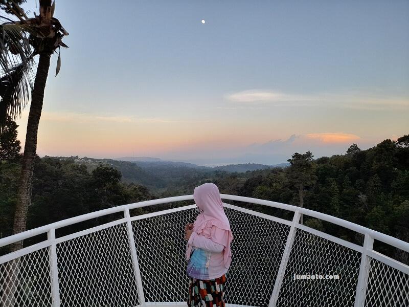 Lengkung Langit 2 Kemiling Lampung (Lokasi, Tiket Masuk, Fasilitas, Foto)