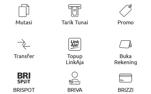 fasilitas aplikasi BRImo