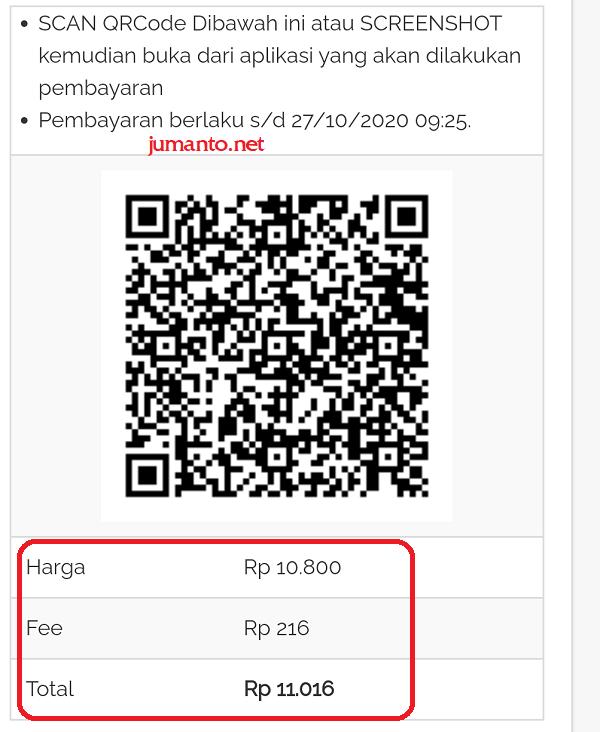 qr code untuk mengubah koin shopee menjadi shopeepay
