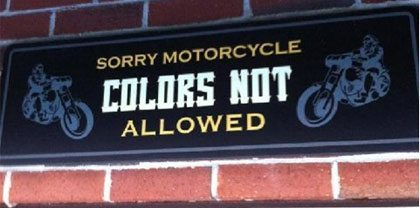 no motorcycle colors