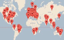 Psytrance Festival Map