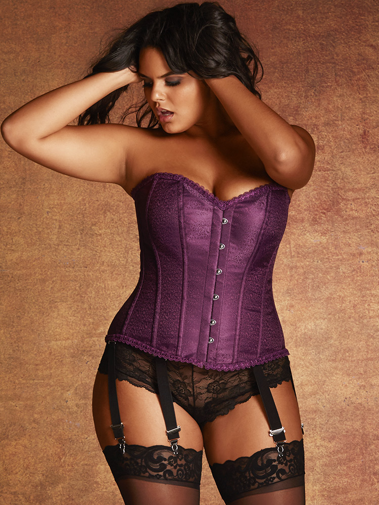 110d7bb8ad6 Plus Size Corsets In Bold Colors and New Styles -