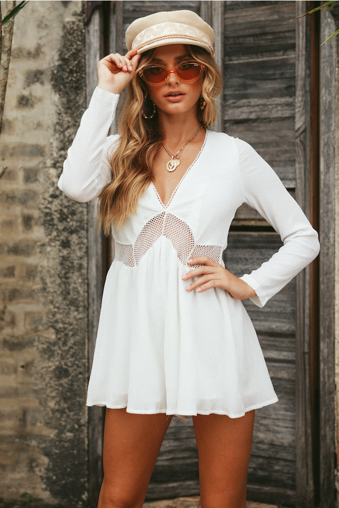 Rompers for Women  Style-Set #2 White Rompers for Hot Summer