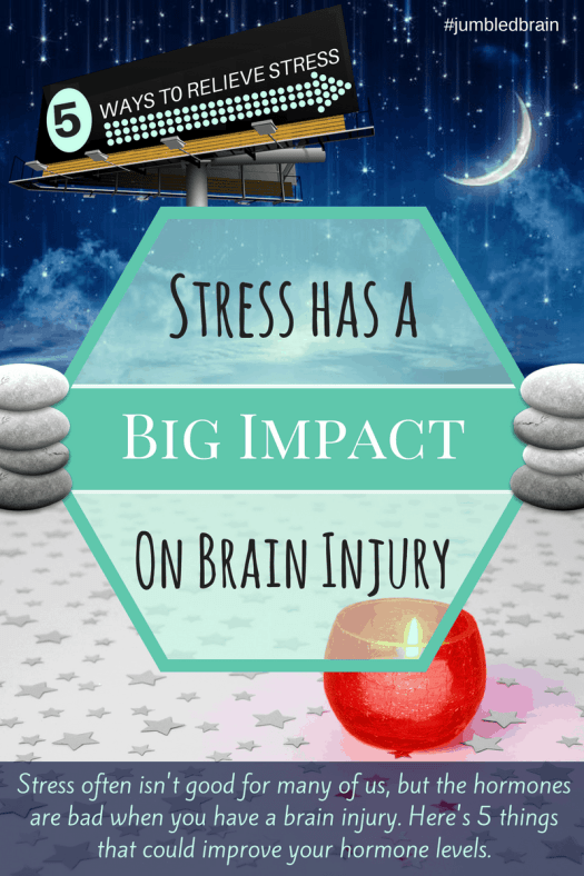 Stress often isn't good for many of us, but the hormones are bad when you have a brain injury. Here's 5 things that could improve your hormone levels.