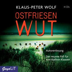 Ostfriesenwut von Klaus-Peter Wolf - Cover mit freundlicher Genehmigung von JUMBO Neue Medien & Verlag