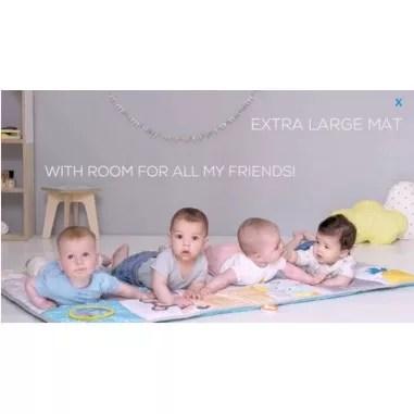 tapis d eveil geant pour jumeaux taf toys