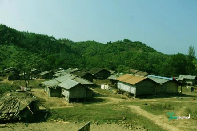 পার্বত্য চট্টগ্রামের একটি গ্রাম