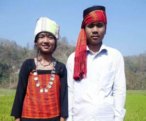 Traditional attire of Tanchangya