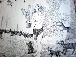 জয়দেব রোয়াজার আঁকা একটি ছবি