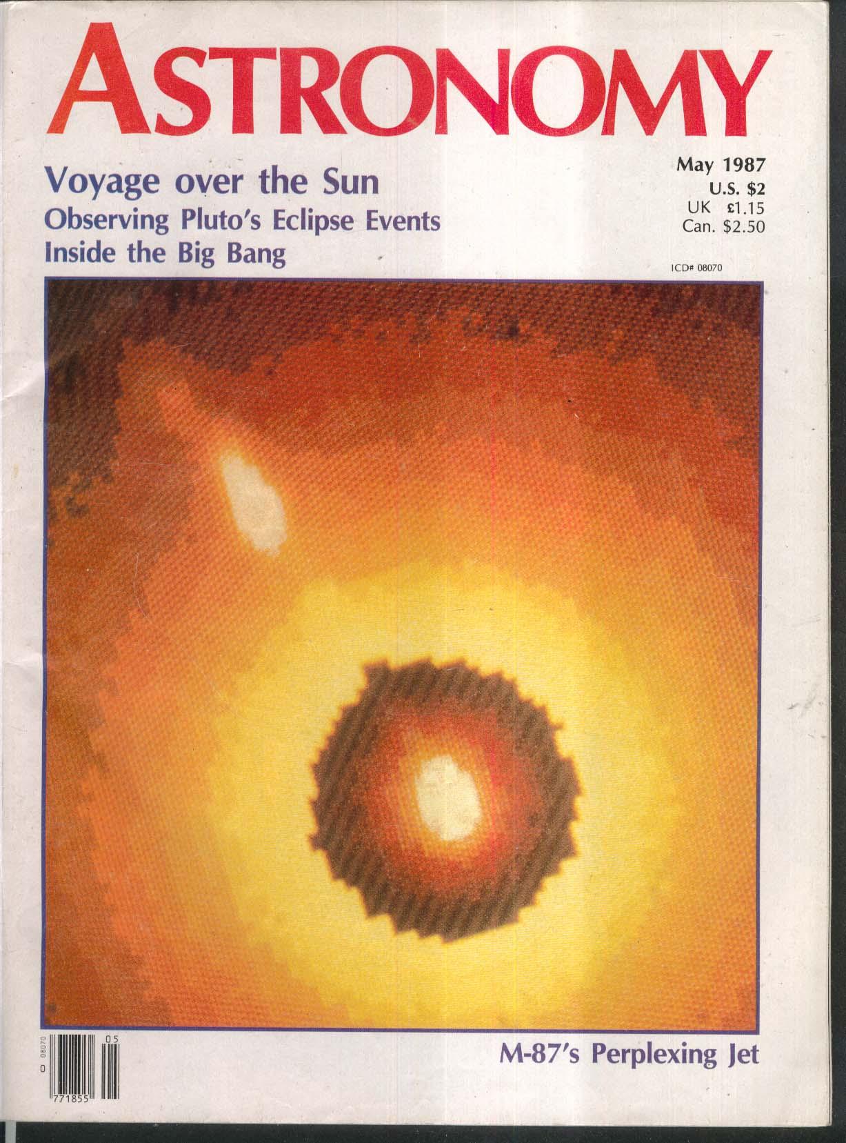 Astronomy Voyage Over Sun M 87 Pluto Eclipse Big Bang
