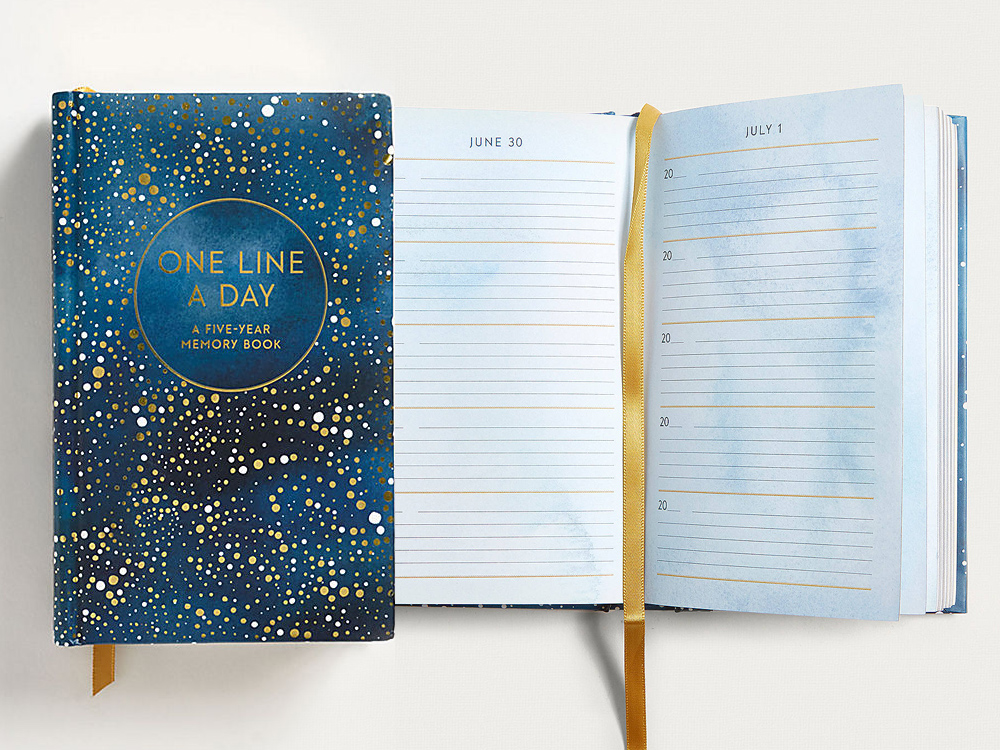 Celestial Hardback Journal from Paper Source
