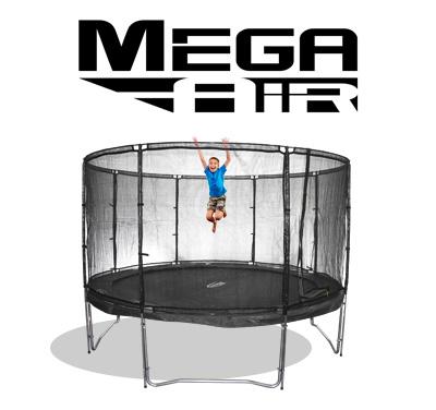 grosse 490 cm trampoline von jumpmax