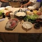 手巻き寿司パーティの写真