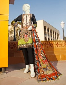 Junaid Jamshed JLAWN S-21-139 FUSION Spring Summer