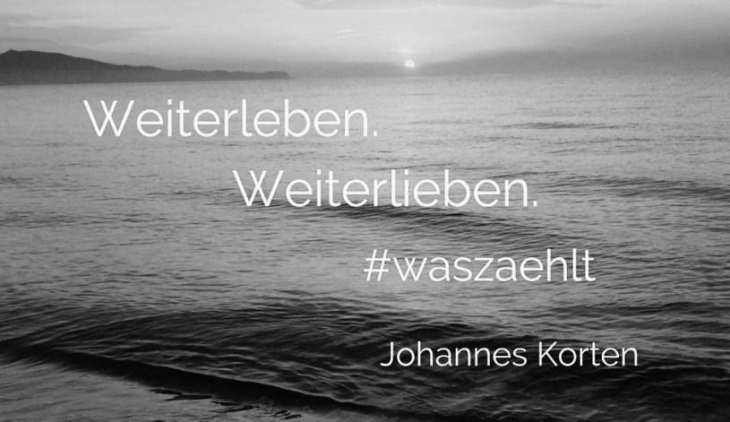 In Erinnerung an Johannes Korten, der im Juli 2016 starb und eine große Lücke hinterlassen hat. Ich bin traurig, bestürzt und wütend über seinen Tod und habe keine eigenen Worte für diesen Blogpost gefunden. Darum habe ich mir die Worte der anderen geliehen. Du fehlst mir, Hannes.