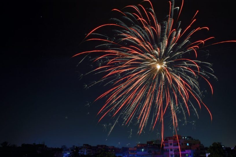 Feuerwerk, CC0 pexels.com