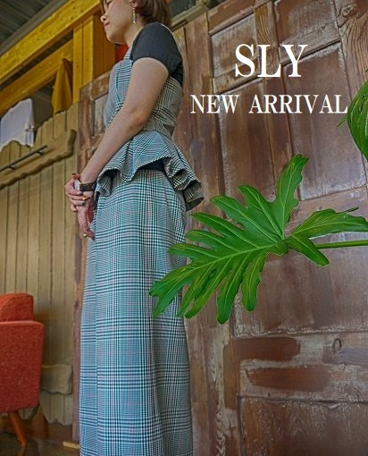 【SLY   NEW ARRIVAL】