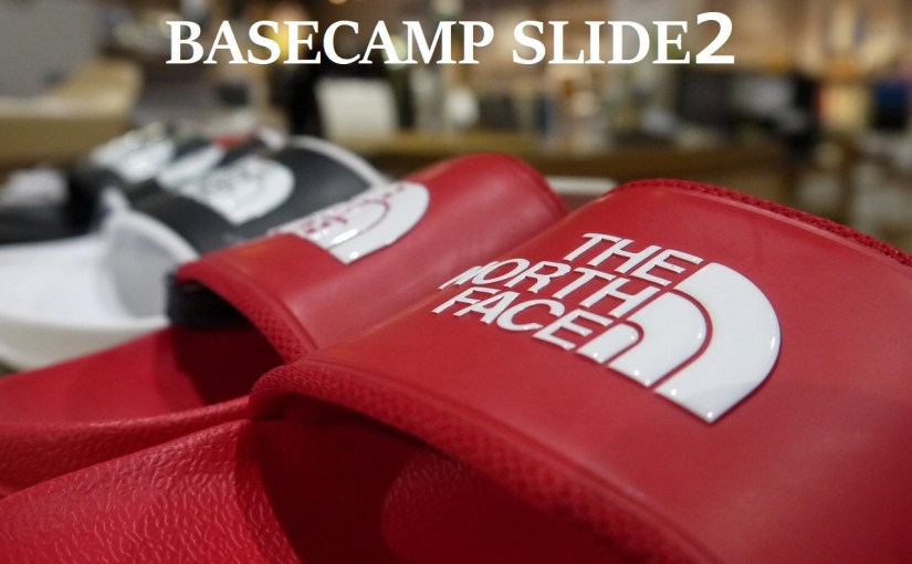 【THE NORTH FACE  BASECAMP SLIDE2】