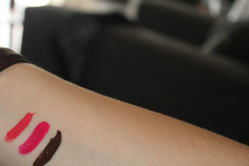 Jeffree Star Liquid Lipsticks swatches