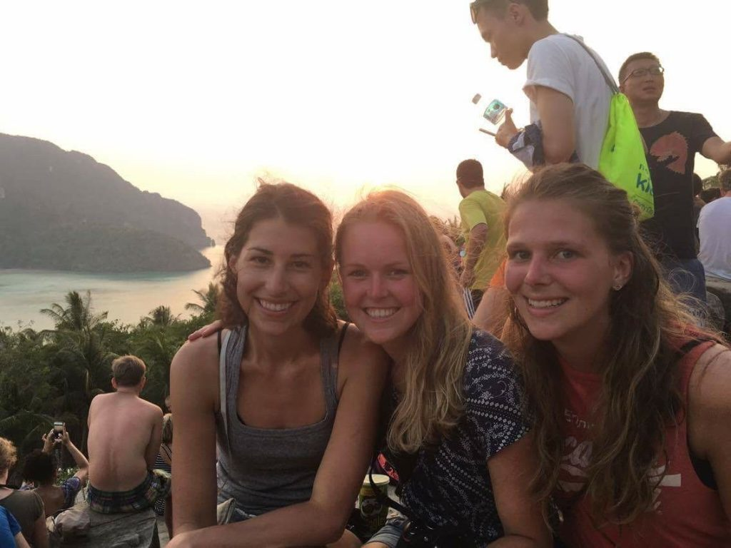 Koh Phi Phi view point friends