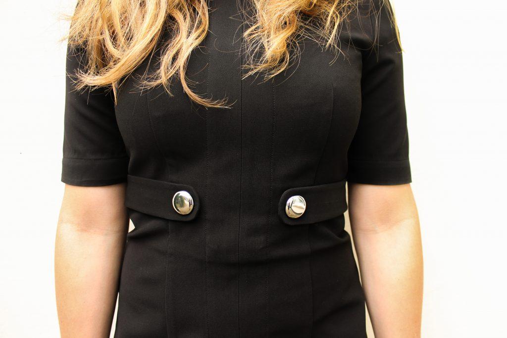 detailshot jurk