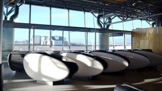 airport sleeping pod