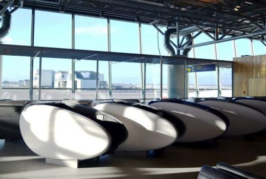 airport sleeping pod