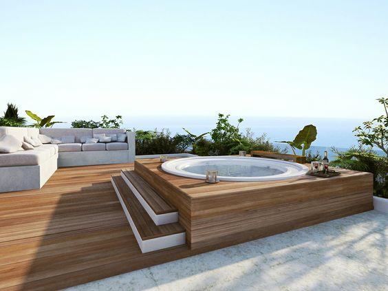 Een eigen spa in jouw tuin